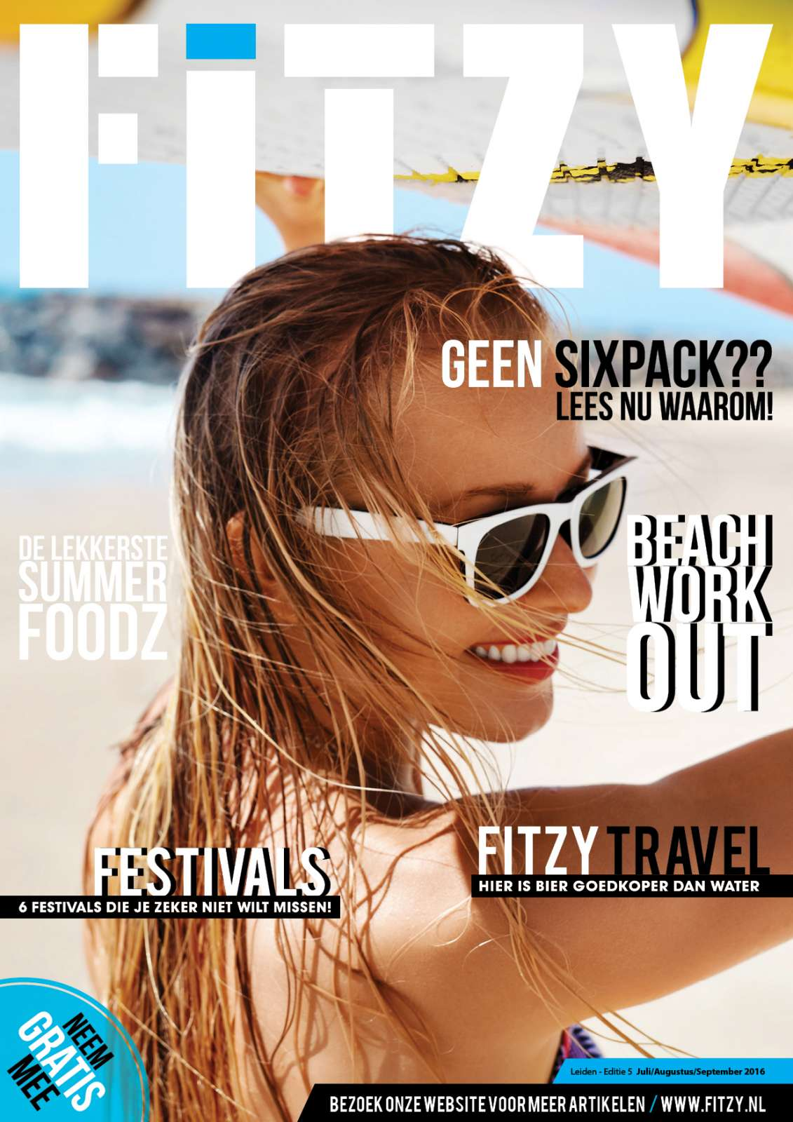 Fitzy cover zomer 2016 Fitzy magazine